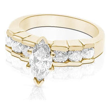 Load image into Gallery viewer, 1.20-2.35 CT Round & Marquise Cut Diamonds - Engagement Ring
