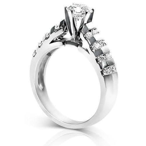 1.10-2.25 CT Round Cut Diamonds - Engagement Ring