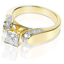 Load image into Gallery viewer, 1.00-2.15 CT Round & Princess Cut Diamonds - Engagement Ring