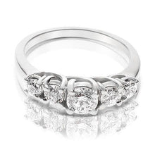 Load image into Gallery viewer, 1.00 CT Round Cut Diamonds - Wedding Band