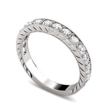 Load image into Gallery viewer, 0.60 CT Round Cut Diamonds - Wedding Band