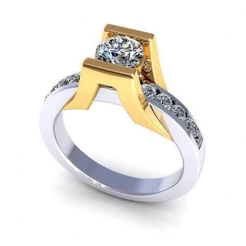 0.70-1.85 CT Round Cut Diamonds - Solitaire Ring