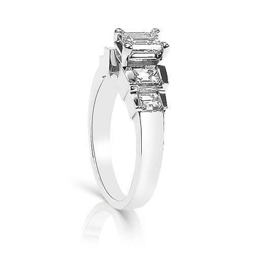 1.65-2.80 CT Emerald Cut Diamonds - Engagement Ring