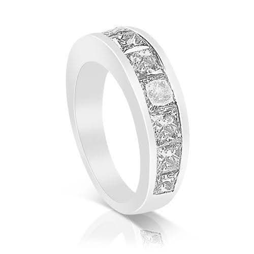 2.60 CT Princess Cut Diamonds - Wedding Band