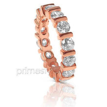 Load image into Gallery viewer, 3.00 CT Round Cut Diamonds - Eternity Ring