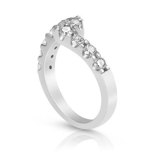 1.10 CT Round Cut Diamonds - Wedding Band
