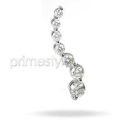 1.22 CT Round Cut Diamonds - Journey Pendant