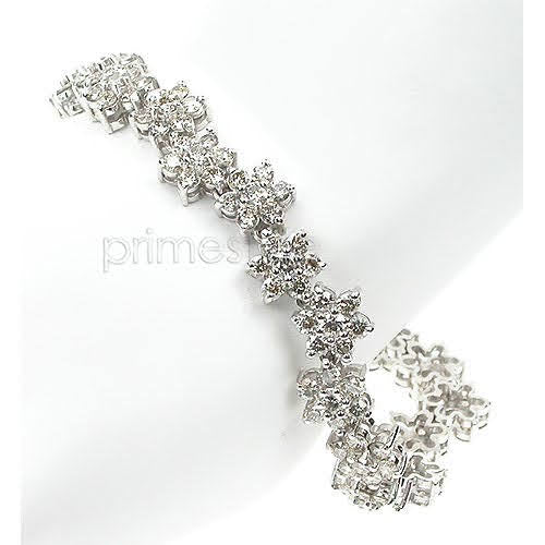 5.20-9.00 CT Round Cut Diamonds - Diamond Bracelet