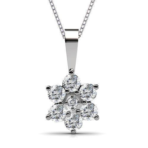 0.50 CT Round Cut Diamonds - Diamond Pendant