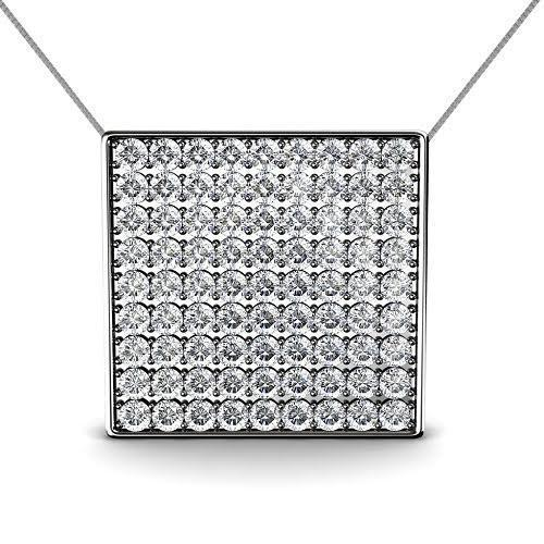 0.85 CT Round Cut Diamonds - Diamond Pendant