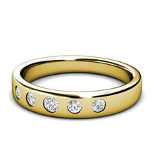 Load image into Gallery viewer, 0.65 CT Round Cut Diamonds - Wedding Band