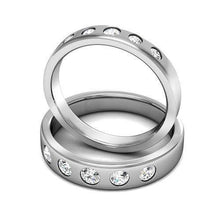 Load image into Gallery viewer, 1.40 CT Round Cut Diamonds - Wedding Set