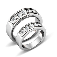 Load image into Gallery viewer, 1.10 CT Round Cut Diamonds - Wedding Set