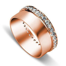 Load image into Gallery viewer, 0.75 CT Round Cut Diamonds - Wedding Band