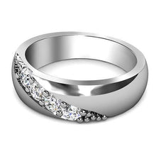 Load image into Gallery viewer, 0.30 CT Round Cut Diamonds - Mens Wedding Band