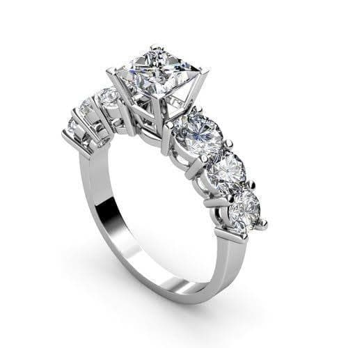1.60 CT Round Cut Diamonds - Engagement Ring