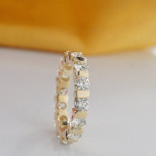 Load image into Gallery viewer, 1.50 CT Round Cut Diamonds - Eternity Ring