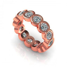 Load image into Gallery viewer, 1.50-5.00 CT Round Cut Diamonds - Eternity Ring