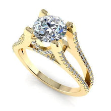 Load image into Gallery viewer, 0.75-1.90 CT Round Cut Diamonds - Engagement Ring