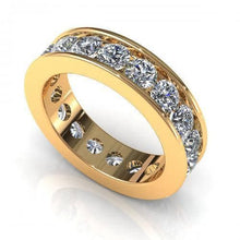 Load image into Gallery viewer, 2.00-6.00 CT Round Cut Diamonds - Eternity Ring