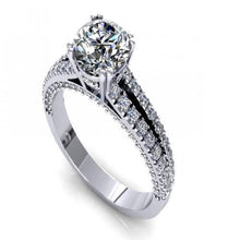 Load image into Gallery viewer, 1.05-2.20 CT Round Cut Diamonds - Engagement Ring