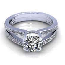 Load image into Gallery viewer, 0.85-2.00 CT Round & Cushion Cut Diamonds - Engagement Ring