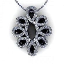 Load image into Gallery viewer, 0.35 CT Round Cut Diamonds - Diamond Pendant