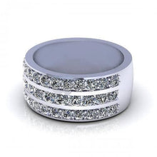 Load image into Gallery viewer, 2.00 CT Round Cut Diamonds - Wedding Band