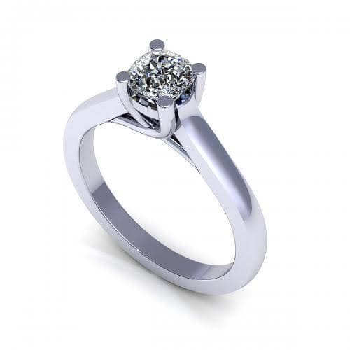0.35-1.50 CT Cushion Cut Diamonds - Solitaire Ring