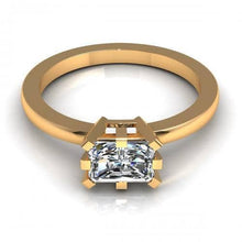Load image into Gallery viewer, 0.35-1.50 CT Radiant Cut Diamonds - Solitaire Ring