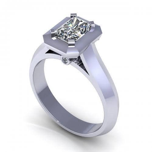 0.37-1.52 CT Round & Radiant Cut Diamonds - Engagement Ring
