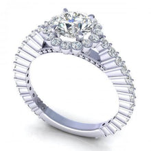 Load image into Gallery viewer, 1.20-2.35 CT Round Cut Diamonds - Engagement Ring