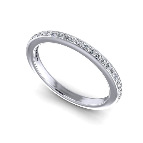 0.30 CT Round Cut Diamonds - Wedding Band