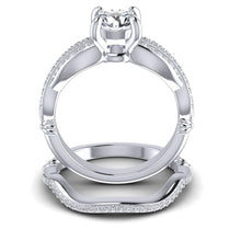 Load image into Gallery viewer, Bridal Sets 0.70-1.85CT Round Cut Diamonds