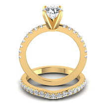 Load image into Gallery viewer, Bridal Sets 1.20-2.35CT Round Cut Diamonds