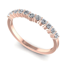 Load image into Gallery viewer, 0.35 CT Round Cut Diamonds - Wedding Band