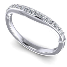 Load image into Gallery viewer, 0.20 CT Round Cut Diamonds - Wedding Band