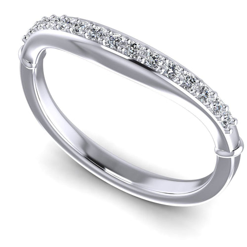 0.20 CT Round Cut Diamonds - Wedding Band