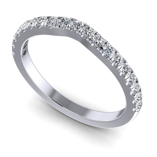 0.45 CT Round Cut Diamonds - Wedding Band