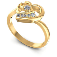 Load image into Gallery viewer, 0.25 CT Round Cut Diamonds - Fashion Ring