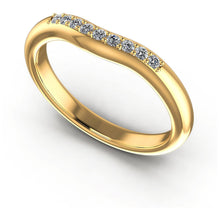 Load image into Gallery viewer, 0.15 CT Round Cut Diamonds - Wedding Band