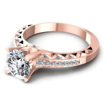 Load image into Gallery viewer, 0.60-1.75 CT Round Cut Diamonds - Engagement Ring