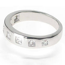 Load image into Gallery viewer, 0.65 CT Princess Cut Diamonds - Wedding Band