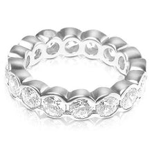 Load image into Gallery viewer, 4.00 CT Round Cut Diamonds - Eternity Ring