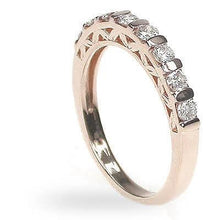 Load image into Gallery viewer, 0.50 CT Round Cut Diamonds - Wedding Band