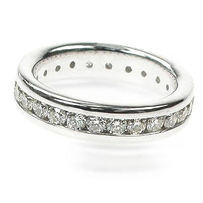 1.30 CT Round Cut Diamonds - Eternity Ring