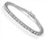 1.00-6.00 CT Round Cut Diamonds - Tennis Bracelet