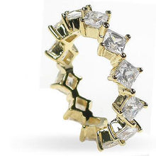 Load image into Gallery viewer, 4.20 CT Princess Cut Diamonds - Eternity Ring