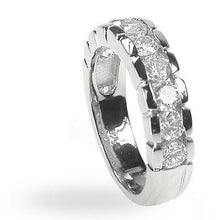 Load image into Gallery viewer, 1.20 CT Round Cut Diamonds - Wedding Band