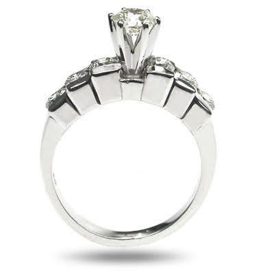 1.20-2.35 CT Round Cut Diamonds - Engagement Ring